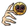 Emoji hand red eye very painful