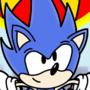 Sonic Movie Poster - Retro Style