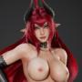 Daemon Girl Pin-up