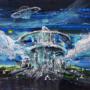 Horizon City Acrylic