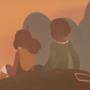 Hana and Noah at Sunset