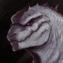 Tanaka Godzilla Bust