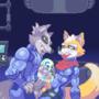 Fox X Wolf Zero Suit