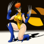 Wolverine girl (gender swap)