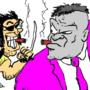 CAULHO (Wolverine) TIRA TEIMA (Hulk Gray)