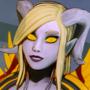 Lightforged Draenei: World of Warcraft Fanart