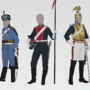 Cavalry, navy and rifles