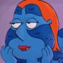 Lois Griffin Mystique cosplay