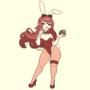 Festive Bunny Girl