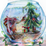 Winter/Holiday card collection: Fishbowl Christmas