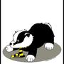 Hufflepuff Badger by NeakaReaka