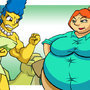 Marge Vs Lois: Round 3 by C-Rocket1