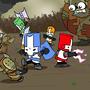 the 4 castle crashers by CastleCrashersRock