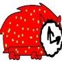 strawberry clock originalhog by nedmclock