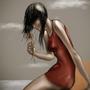 Girl (speed paint) by trueWolF