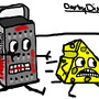 looney cheese grater by photographer