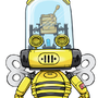 robo honey bee by SOULANGEL