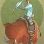 woar boar, the saddle-caster! by jouste