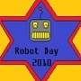 Robot Day Stamp
