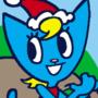 Holiday Katy Kat Commission