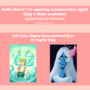 Commissions Open Holiday Prices