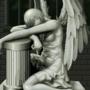 pixel statue