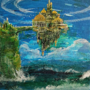Floating Sea Castle Acrylic