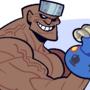GIFT: boxer man cyborg