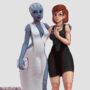 (Ouroboros Commission) liara t soni and femshep