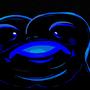 Shade of amphibian blue by Uzzaman