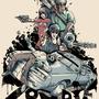 Zombie Doom Squad Poster by Drakxxx