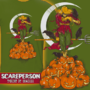Scareperson T-Shirt by Drakxxx