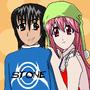 Me and Nyuu ^^ by Vergil123