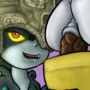 Making a SCAT cake with Midna and Toriel Panel 1