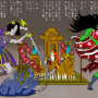 Shin Hisako vs Mimic Hisako Ukiyo-e Art