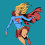 Supergirl by Everton Sousa, Ink by Pendecon and Flats by me