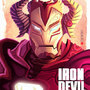 Iron Devil Man by Wenart