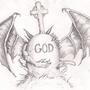 God Is Dead by Taacoon