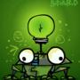 'Lightbulb Frog' by Butzbo