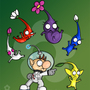 Olimar: Shit just got real! by OrinCreed