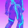 Purple Technology Man by TheMSJkids