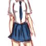 School girl by CoreClock