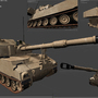 M109A6 Paladin UE3 Model by OrinCreed