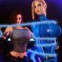 Trishka and Samus - All Tied Up