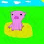 pig cheesewheel