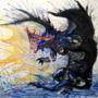 Namielle Watercolor Monster Hunter World