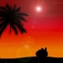 Bunny Sundown by Zonferno
