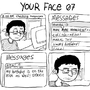your face by LazyMuffin