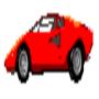 Lamborghini Countach Pixel
