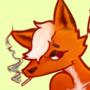 Fox lady Pinup
